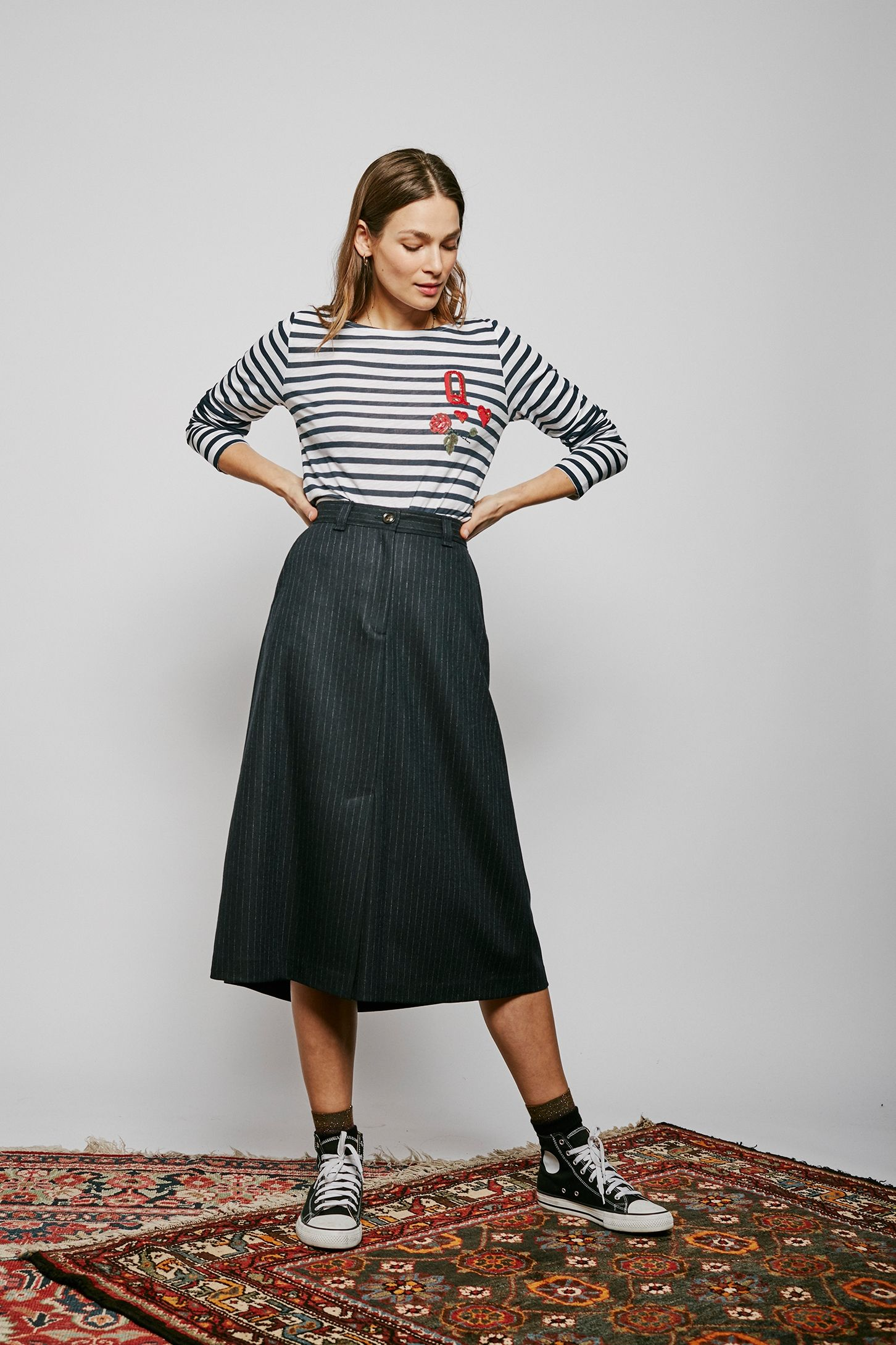 Image 1 du produit Jahel Stripes Skirt